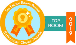 2019 Top Escape Rooms Project Winner